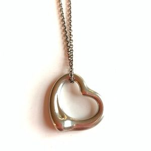 Elsa Peretti Large Open Heart Necklace